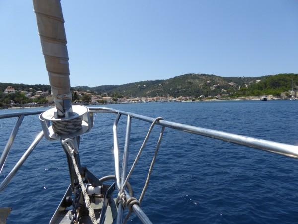 Mitsgelen in Kroatien mit Skipper