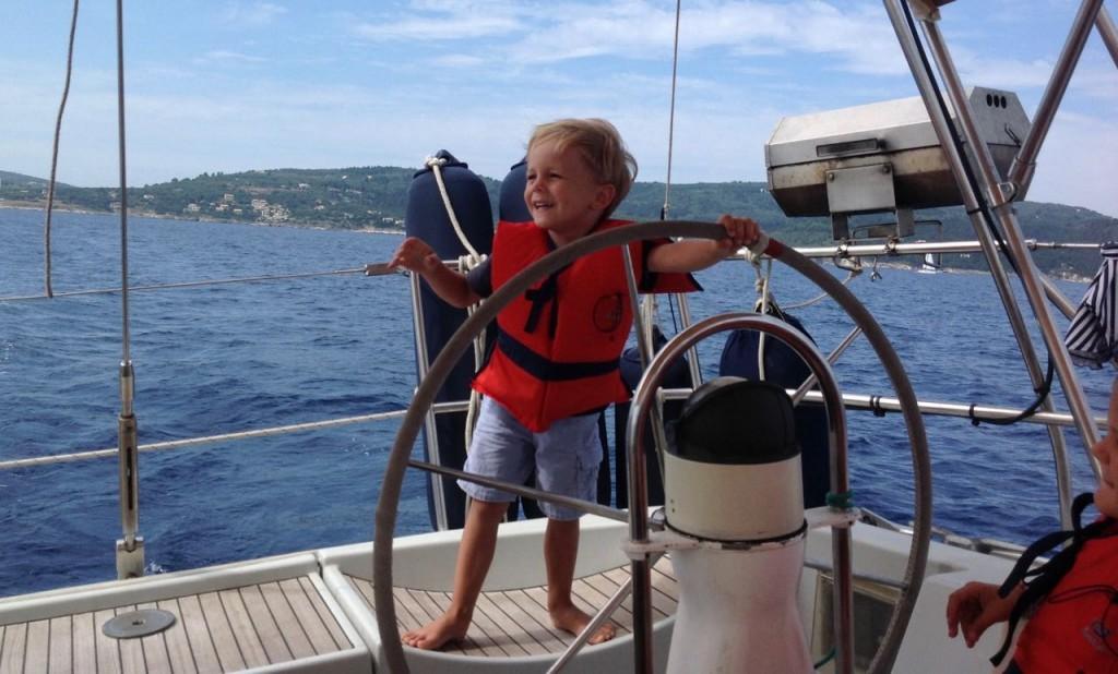 Segeltörn mit Kindern im Ionischen Meer