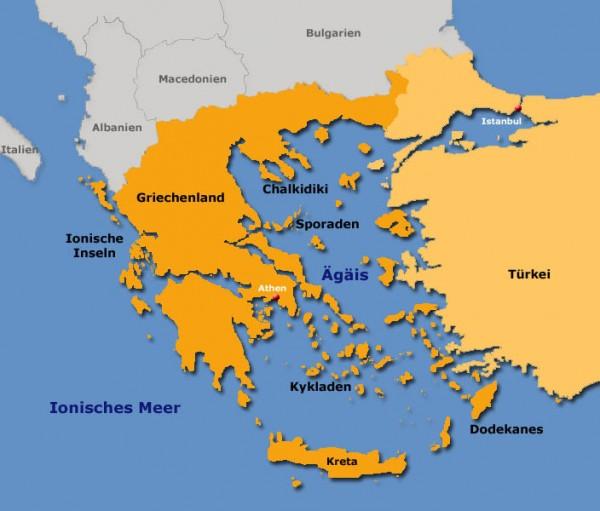 Segeltörn in Griechenland mit Skipper